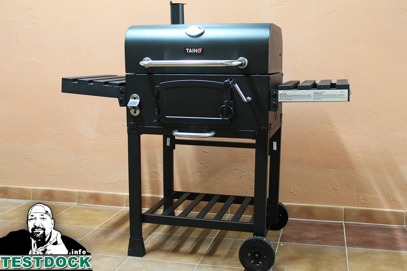 Tepro Toronto Holzkohlegrill Click Anleitung : Tepro toronto holzkohlegrill im test